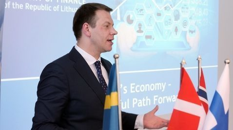 January Nordic Business Lunch with the Minister of Finance