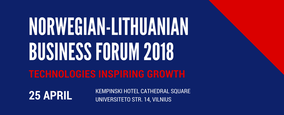 Norwegian – Lithuanian Business Forum 2018