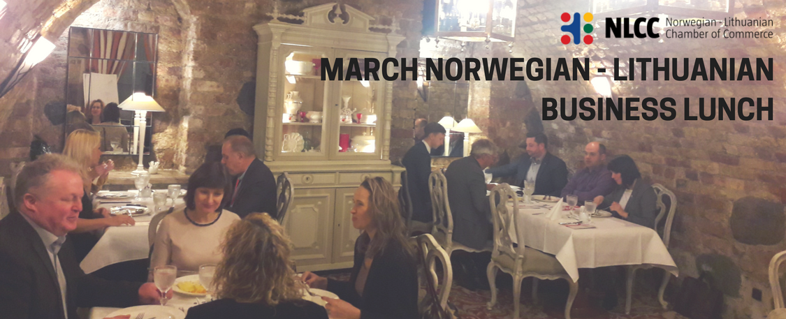 March Norwegian-Lithuanian Business Lunch