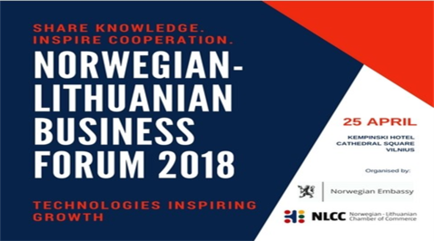Norwegian – Lithuanian Business Forum 2018