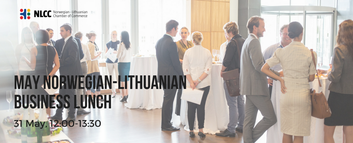 May Norwegian-Lithuanian Business Lunch