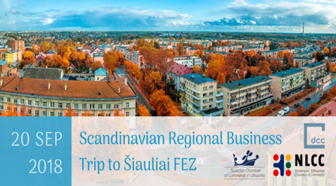 Scandinavian Business Trip to Šiauliai Free Economic Zone