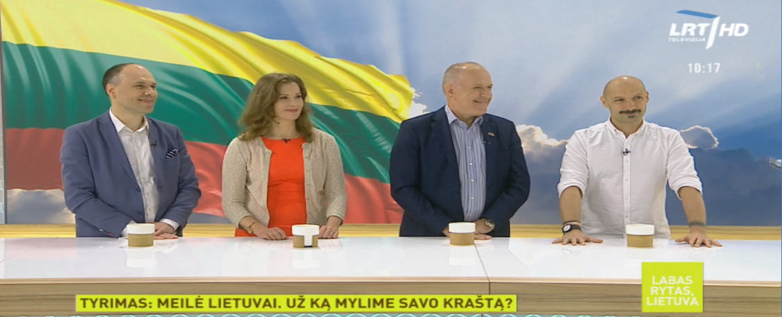 "NLCC on Saturday's ""Good morning, Lithuania"" TV show"