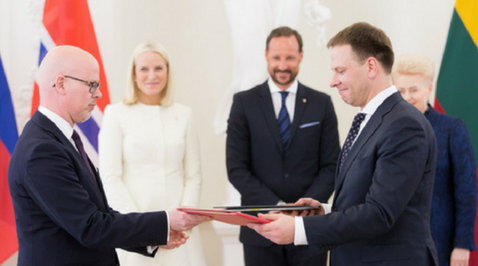 New Agreement with Lithuania Signed