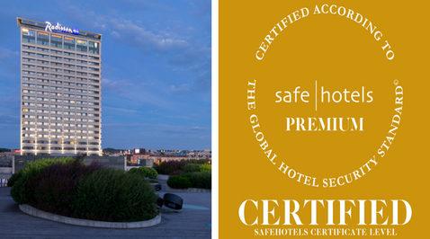 Radisson Blu Hotel Lietuva announces Safehotels …