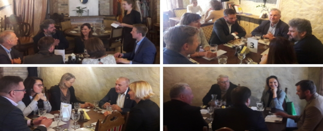 Norwegian-Lithuanian and Danish Business Lunch