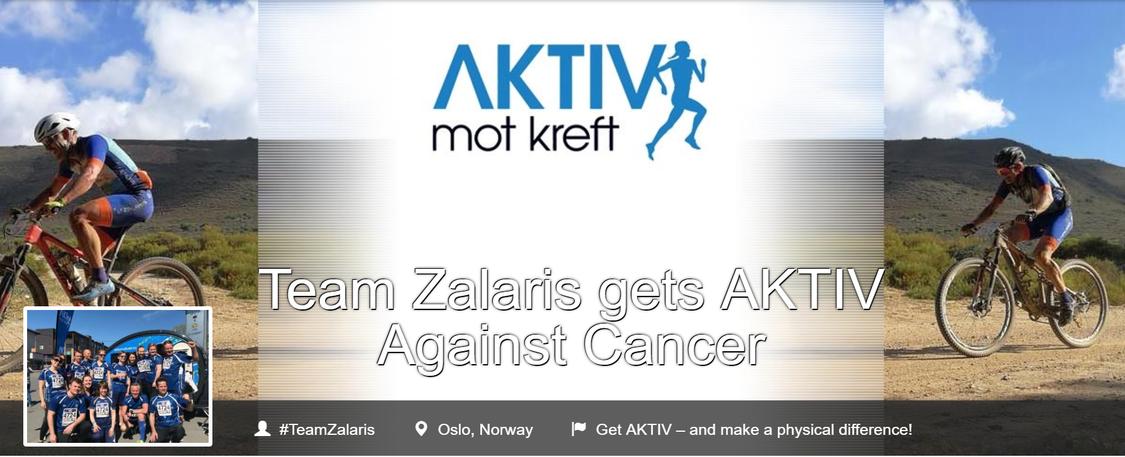 Team Zalaris gets AKTIV Against Cancer