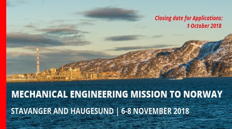 Mechanical Engineering Mission to Norway 2018
