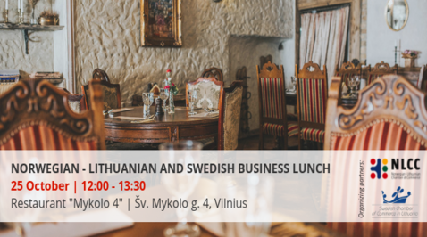 Norwegian-Lithuanian and Swedish Business Lunch