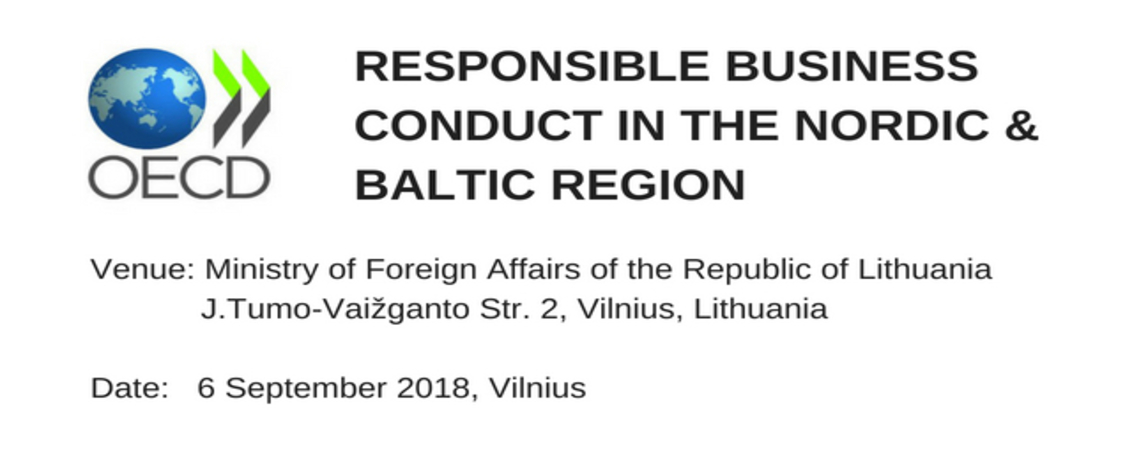 Responsible Business Conduct in the Nordic & Baltic…