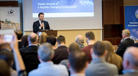 Nordic Business Lunch with Minister of Finance