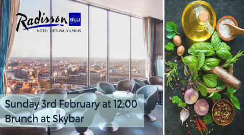 Themed brunches in panoramic Skybar