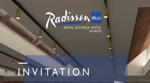 Radisson Blu Royal Astorija Hotel Vilnius is changing