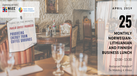 April Norwegian-Lithuanian Business Lunch