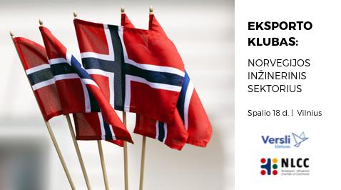 Eksporto klubas: Norvegijos inžinerinis sektorius
