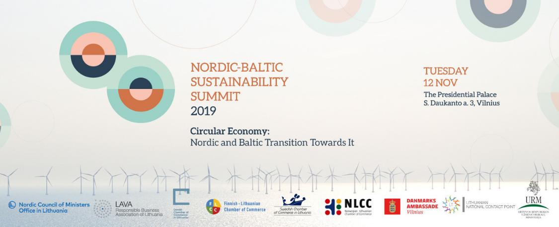 Nordic – Baltic Sustainability Summit 2019