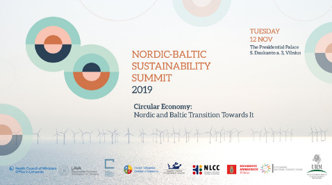 Nordic – Baltic Sustainability Summit 2019