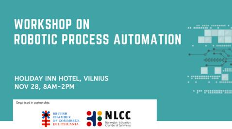 Robotic Process Automation (RPA) Workshop