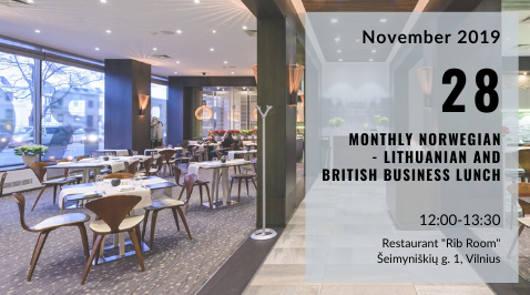 Monthly Norwegian – Lithuanian Business Lunch