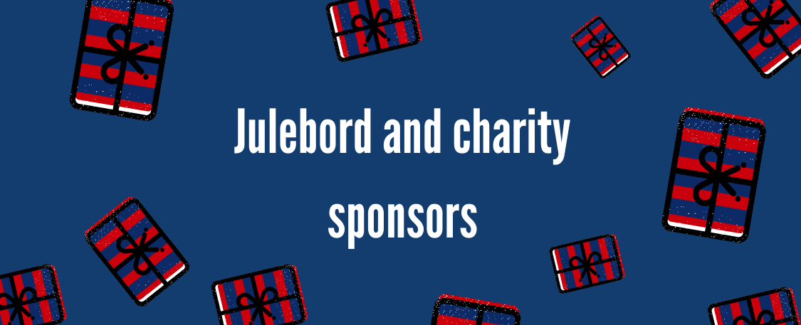 We are greatful for our Julebord sponsors!
