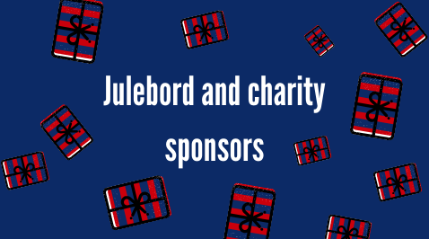 We are greatful to our Julebord sponsors!