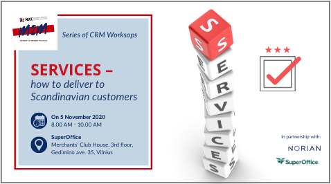"""""""Services – how to deliver to Scandinavian customers"""""""