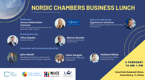 Nordic Chambers Business Lunch