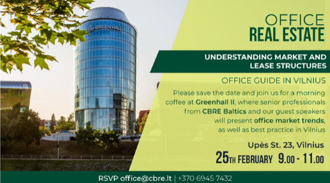 CRBE Baltics invites you to join on 25th February