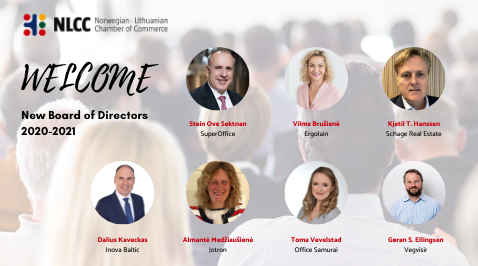 Welcome the New Board of Directors 2020-2021