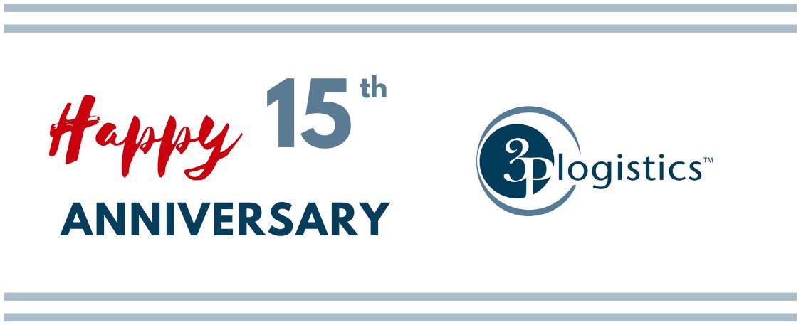 Congratulations to 3P Logistics on 15th Anniversary