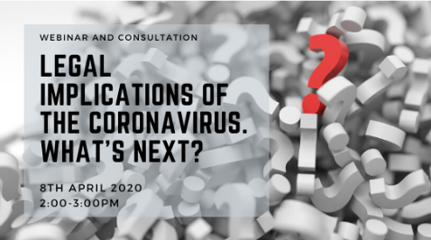 Legal implications of the coronavirus. What's next?