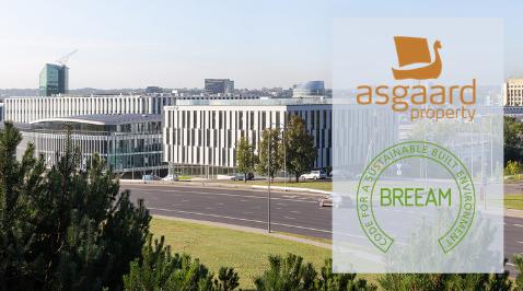 BREEAM certification for business center AsgaardKeys