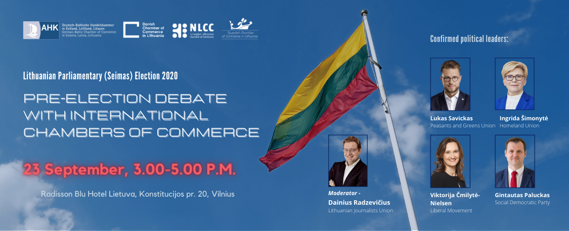 Pre-Election Debates with International Chambers