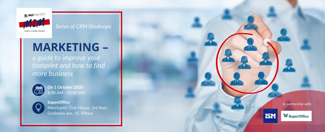 CRM workshop series: Marketing