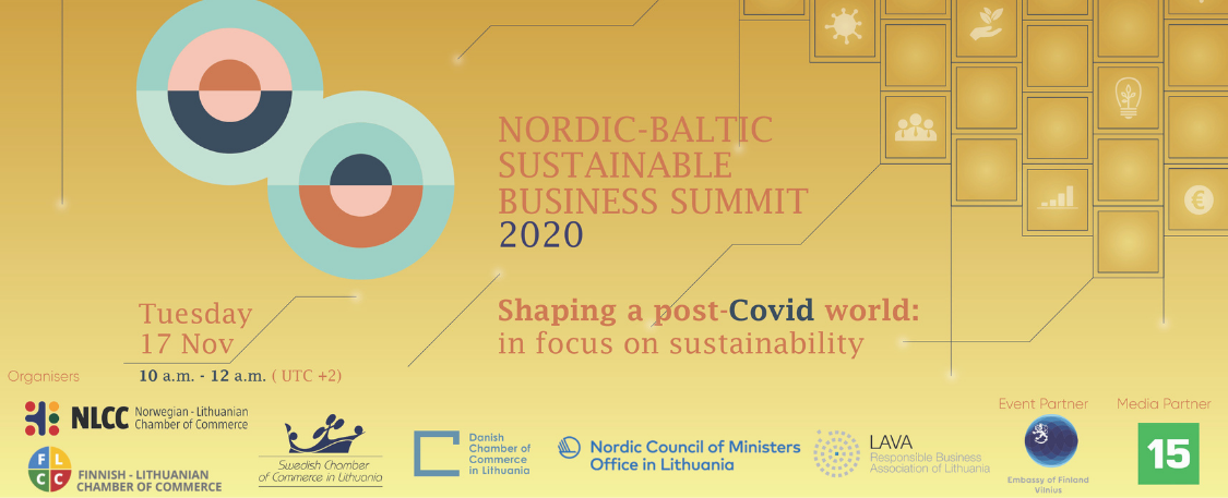 Nordic-Baltic Sustainable Business Summit 2020