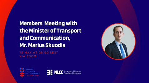 Members Business Meeting with Minister of Transport and Communication, Mr. Marius Skuodis