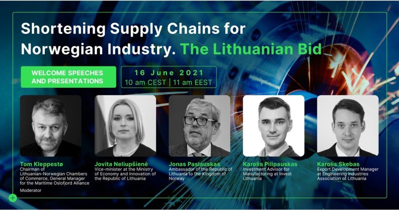 Shortening Supply Chains for the Norwegian Industry – The Lithuanian Bid