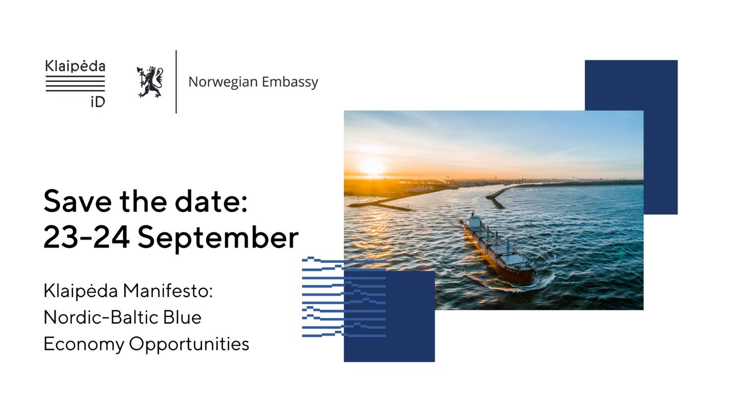 Klaipėda Manifesto: Nordic-Baltic Blue Economy Opportunities