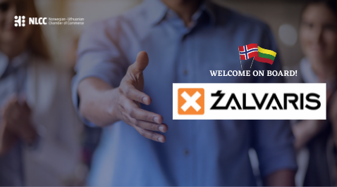 NLCC is glad to welcome our new Bronze Member – ŽALVARIS!